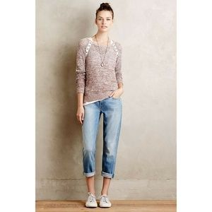 New Anthropologie Mother Dropout Jeans Size 27